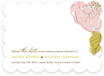 Simple Sophisticate Save the Date Cards