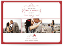 Simple Charm Save the Date Cards