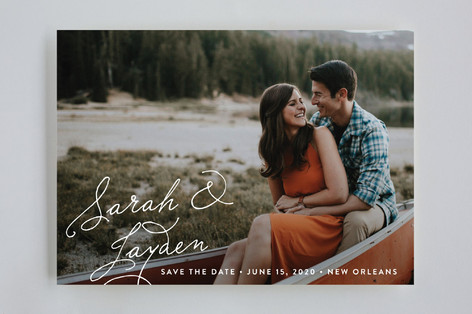 Name Love Save The Date Cards