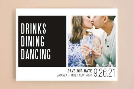 Triple D Save The Date Cards