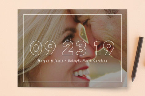 Just Picture It Save The Date Cards