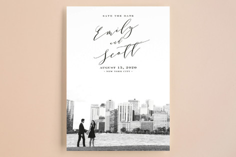 New York Classic Save The Date Cards