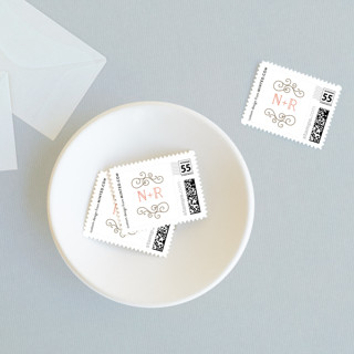 Flourishing Love Wedding Stamps