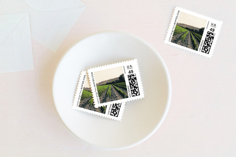 St. Helena Wedding Stamps