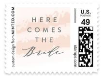 softly brushed Wedding Stamps
