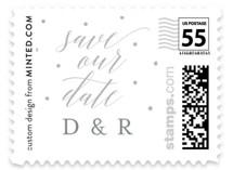 Letterpress dreams Wedding Stamps
