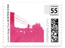 Skyline -New York Wedding Stamps
