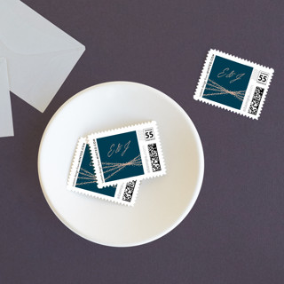 Starcrossed Wedding Stamps