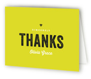 Citrus Sweet Sweet Sixteen Party Thank You Cards