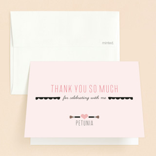 Sweet Sixteen Beauty Bash Sweet Sixteen Party Thank You Cards