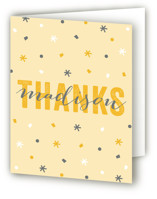 Confetti Sweet Sixteen Party Thank You Cards