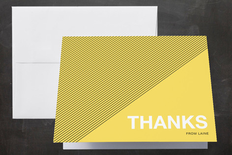 Cool Vibe Sweet Sixteen Party Thank You Cards