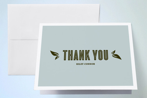 Acoustic Sweet Sixteen Party Thank You Cards