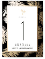 Gilded Palms by jot and tittle design