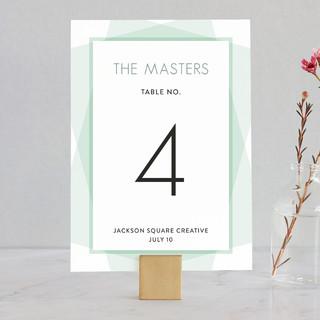 Prism Wedding Table Numbers