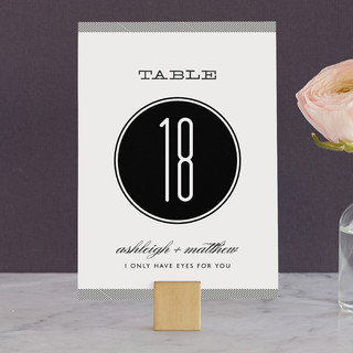 Twine Wedding Table Numbers