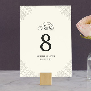 Splendorous Wedding Table Numbers