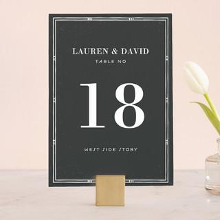 Love in Estilo Wedding Table Numbers