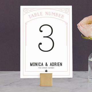 Romantic Revelry Wedding Table Numbers
