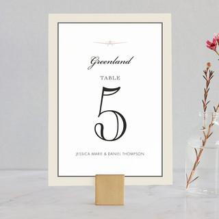Edenbridge Wedding Table Numbers