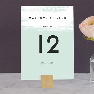 Museum quality Wedding Table Numbers
