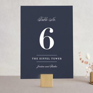 Flawless Wedding Table Numbers
