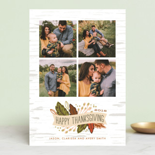 Birch Thanksgiving Thanksgiving Petite Cards