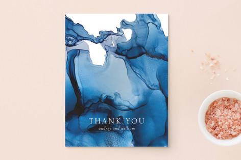 blue tides Thank You Postcards