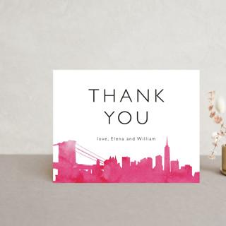 Skyline - New York Thank You Postcards