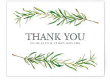 Simple Sprigs Thank You Postcards