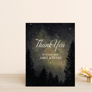 Starry, Starry Night Thank You Postcards