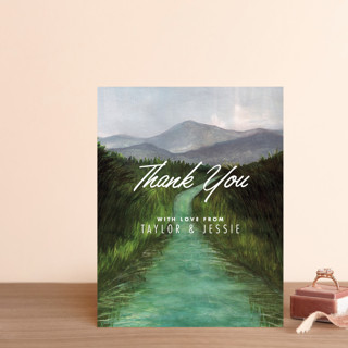 Adventure Begins Thank You Postcards