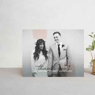 Single Swath Thank You Postcards