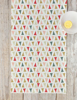 Triangle Traipse Table runners
