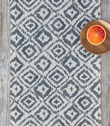 Painterly Ikat Table runners