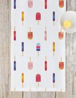 I love popsicles Table runners