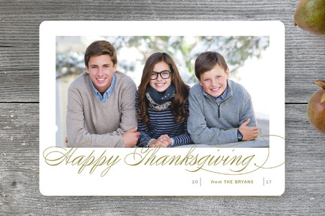 Fresh Christmas Wishes Thanksgiving Cards