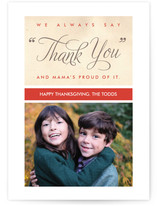 Mama&#039;s Thank You Thanksgiving Cards