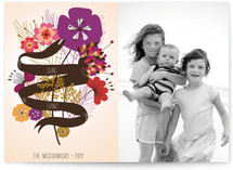 Floral Banner for Thanksgiving Thanksgiving Cards