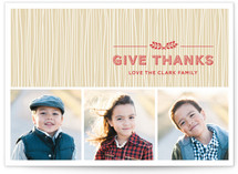 Rustic Splendor Thanksgiving Cards