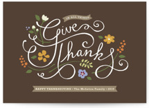 In All Things Thanksgiving Cards