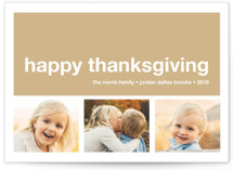 Modern Joy Thanksgiving Cards