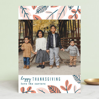 Autumn Leaves Thanksgiving Cards