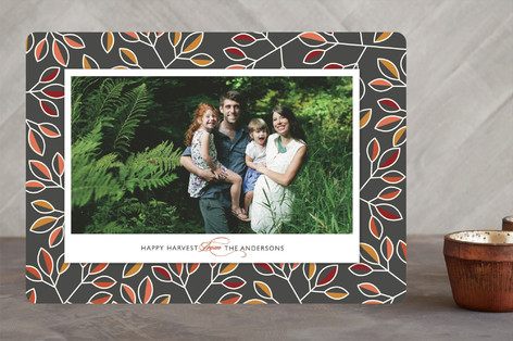 Happy Harvest Thanksgiving Cards