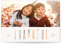 colorful thankful by Pixel and Hank
