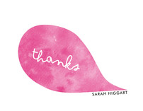 Think Pink Thank You Cards