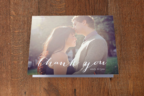 Picture Perfection Thank You Cards