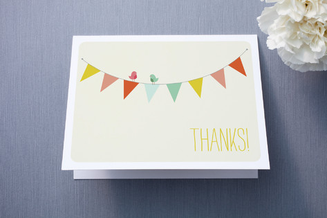 Barn Party! Thank You Cards