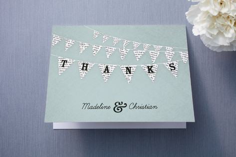 Love Story Thank You Cards