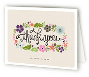 Daisy Chain Thank You Cards